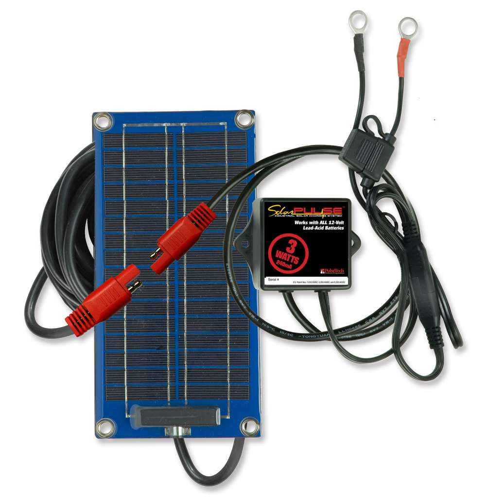3W SolarPulse Battery Charger