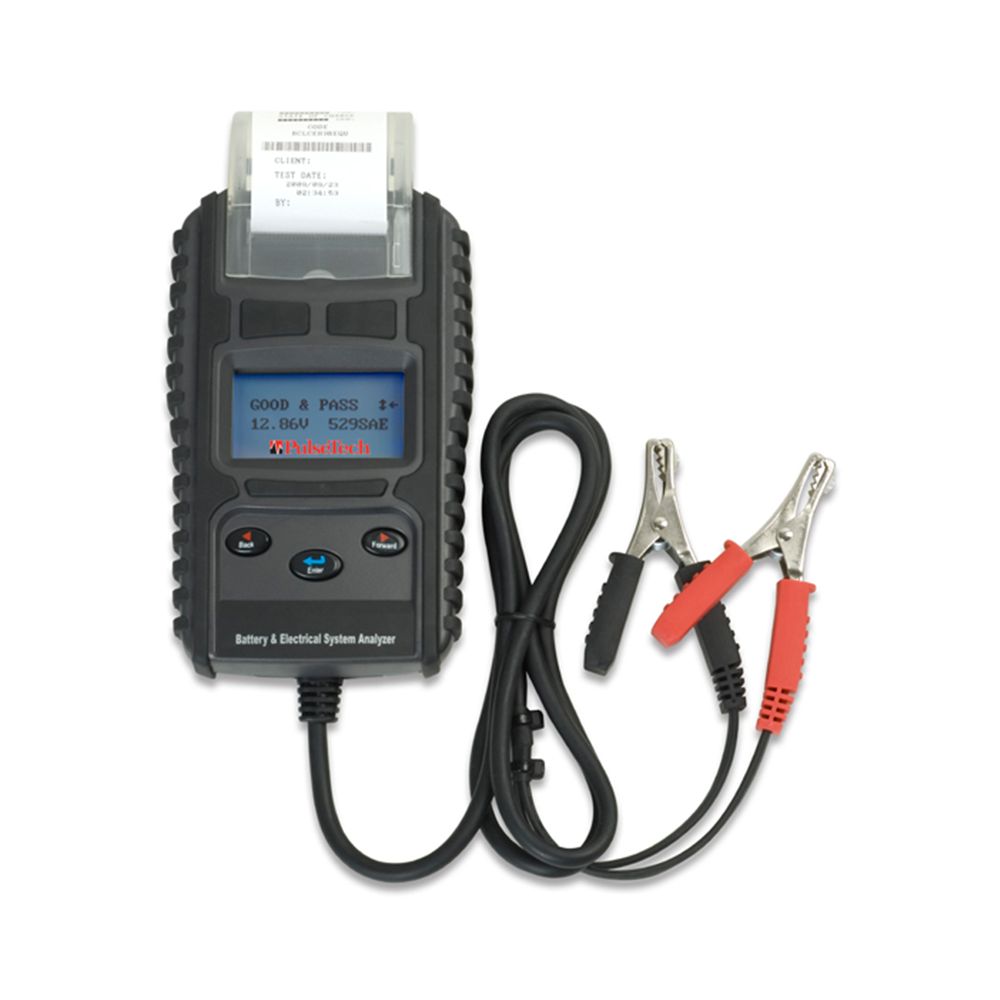 PulseTech 12V Digital Battery Tester with Printer