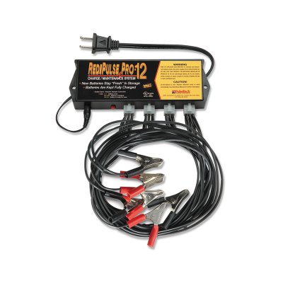 RediPulse 12-Station Battery Maintenance System